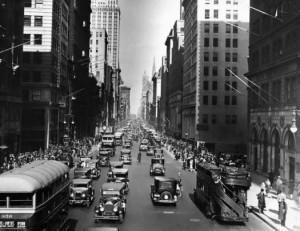 Times Square в 1909 году