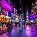 Огни на Таймс-Сквер
