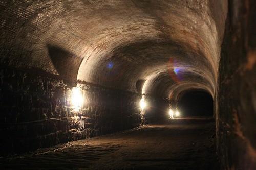 Заброшенный тоннель в Нью-Йорке