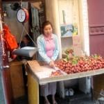 Рыночный прилавок в ChinaTown