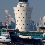 Диспетчерская вышка в аэропорту