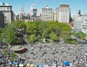 Union-Square - одна из самых главных площадей Манхэттена