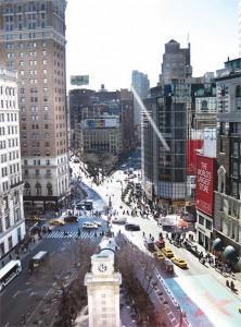 Площадь в пятом округе Манхэттена Геральд-сквер