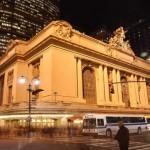 Вид на Центральный вокзал в Нью-ЙОрке с улицы