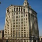 Флэтайрон билдинг - небоскрёб в Нью-Йорке, фото