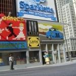 Улица Нью-Йорка созданная Шоном Кенном