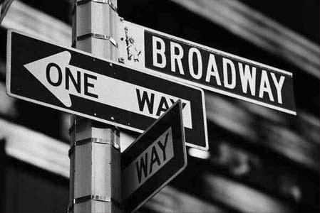 Бродвей (Broadway) - самая широкая и длинная улица Нью-Йорка