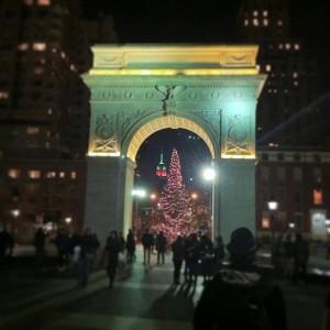 Знаменитая арка, которую Вы наверняка не один раз видели в Нью-Йорке