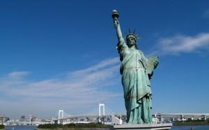 Красивая фотография Статуи Свободы
