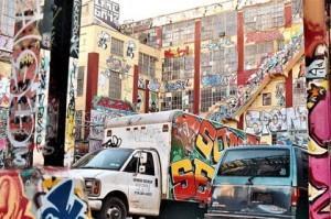 Граффити в Нью-Йорке (5-th Points)