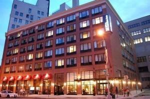 Трайбека район в Манхэттене, здания