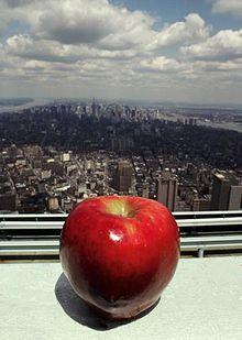 Нью-Йорк - Большое яблоко The Big Apple