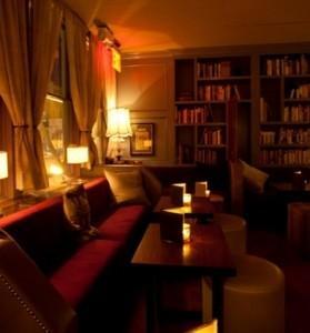 Уютное кафе в Нью-Йорке