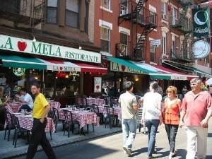 Маленькая Италия (Little Italy) в Нью-Йорке