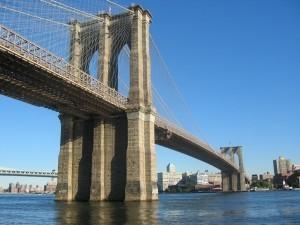 Фотография Бруклинского моста в высоком качестве