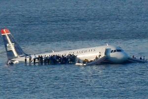 Аварийная посадка самолёта на реку Гудзон