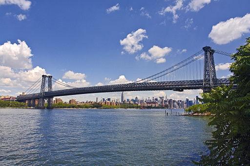 Вильямсбургский мост в Нью-Йорке, фотография Вильямсбургского моста