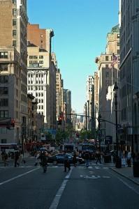 Вот так пятая авеню выглядит в сегодняшние дни