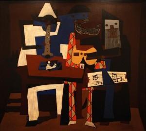 Картина Пабло Пикасо в музее современного искусства