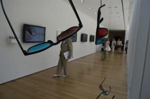 3D очки в музее современного искусства