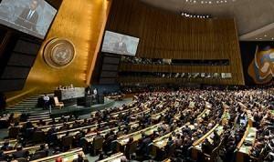 Заседание ООН в Нью-Йорке