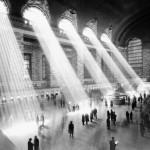 Старая фотография центрального вокзала в Нью-Йорке
