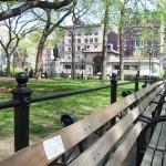 Красивый, зелёный парк на территории Юнион-Сквер