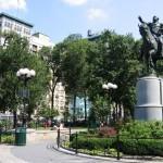 Памятники и статуи в парке на Юнион-Сквер