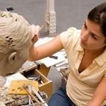 Лаборатория,в которой изготавливаются восковые фигуры музея Мадам Тюссо