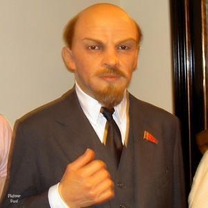 Владимир Ленин в музее Мадам Тюссо